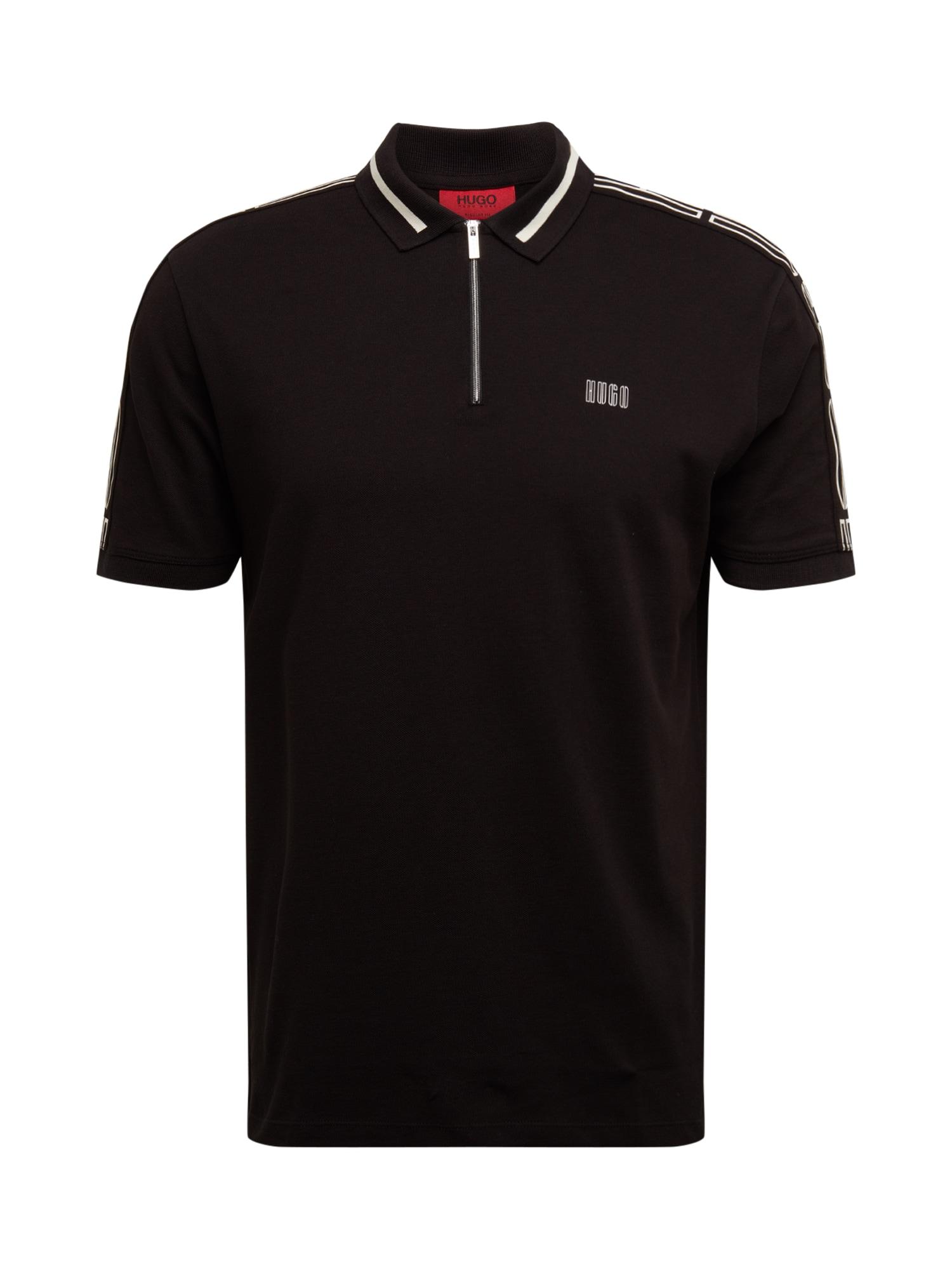 HUGO Marškinėliai 'Dolmar' juoda