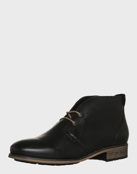 apple of eden ankle boot 39 bruna 39 in schwarz about you. Black Bedroom Furniture Sets. Home Design Ideas