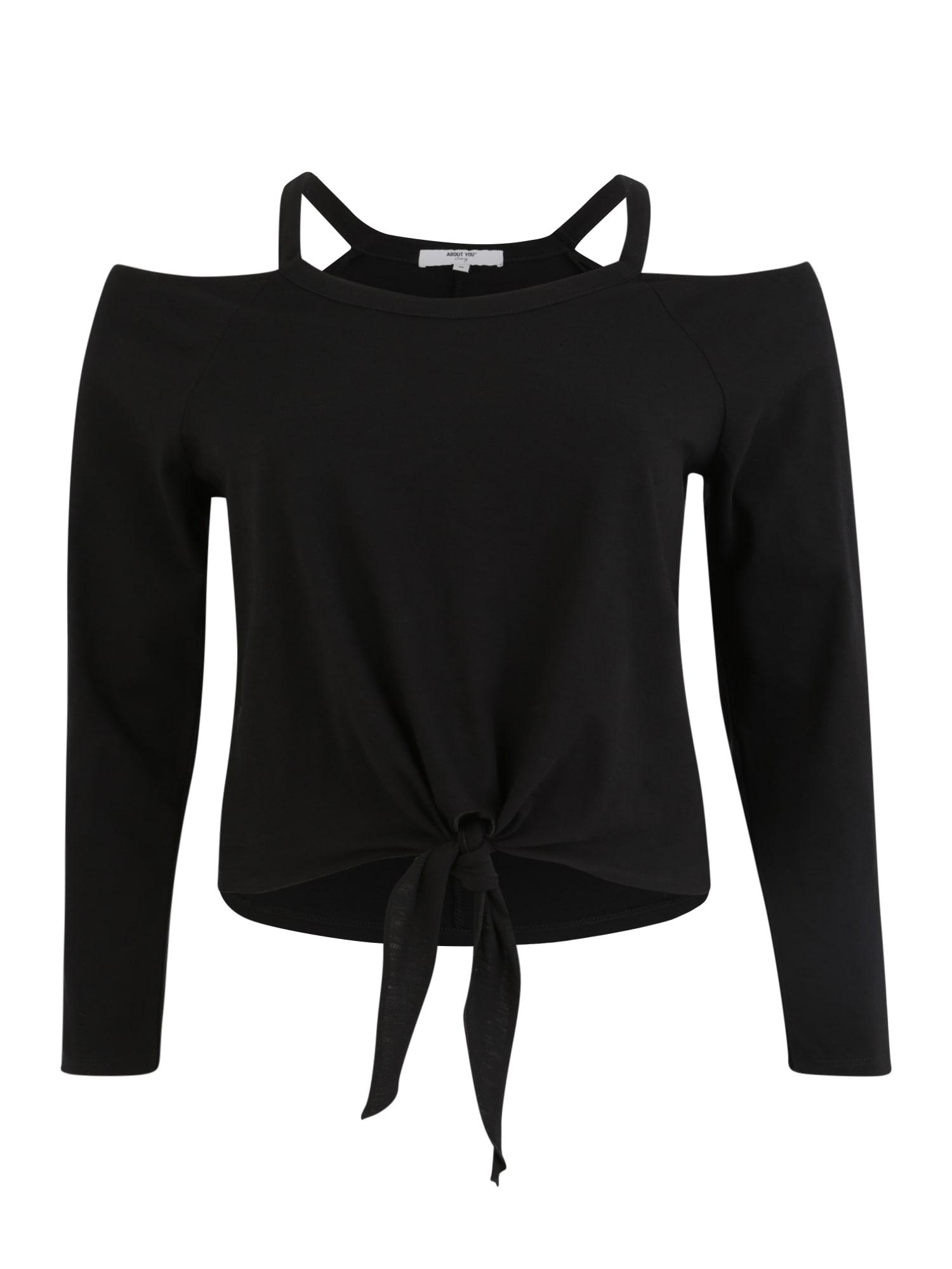 ABOUT YOU Curvy Marškinėliai 'Asya' juoda