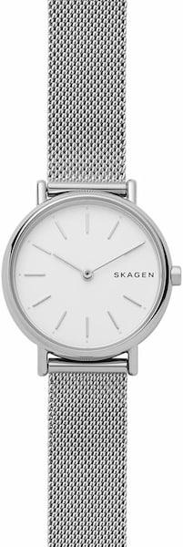Uhren für Frauen - SKAGEN Quarzuhr 'SIGNATUR, SKW2692' silber weiß  - Onlineshop ABOUT YOU