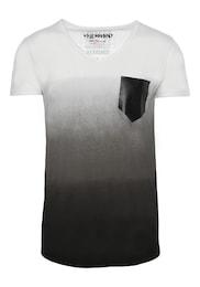 trueprodigy Herren T-Shirt What Happens grau,schwarz,weiß | 04057124049510