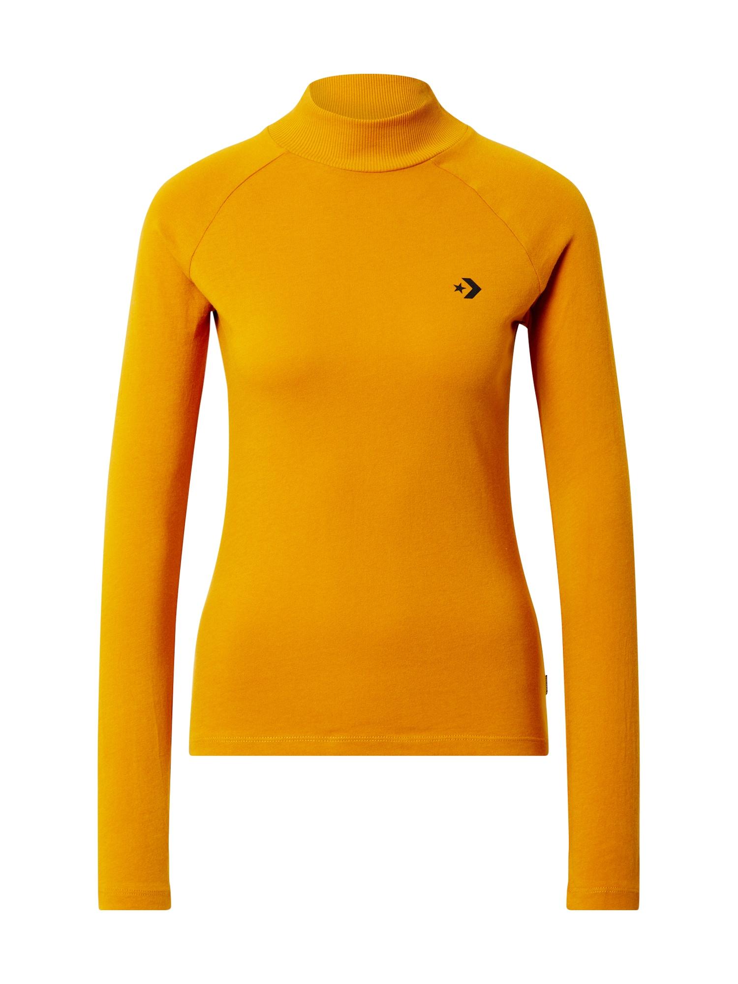 CONVERSE Marškinėliai oranžinė