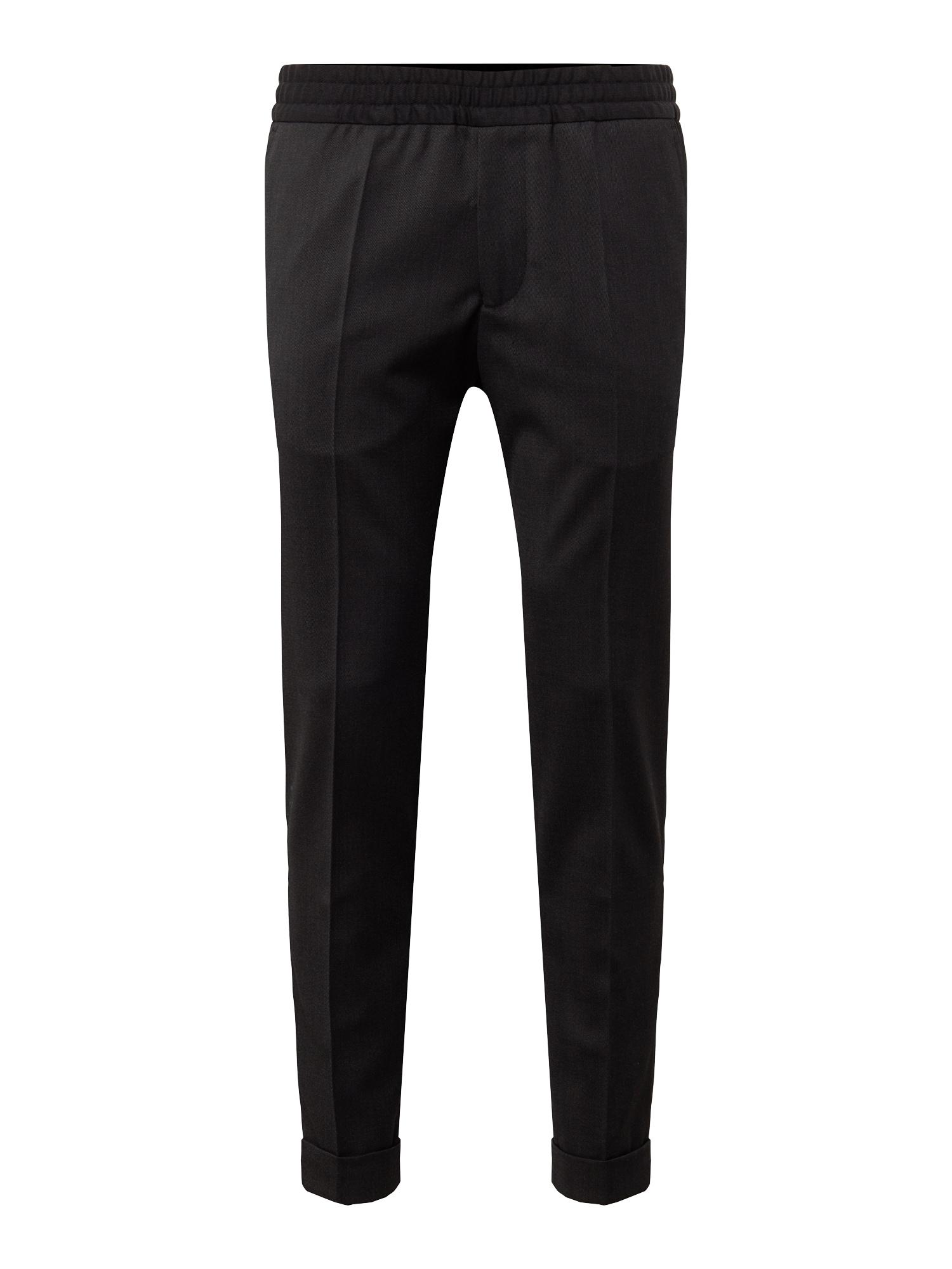 Kalhoty s puky M. Terry antracitová Filippa K