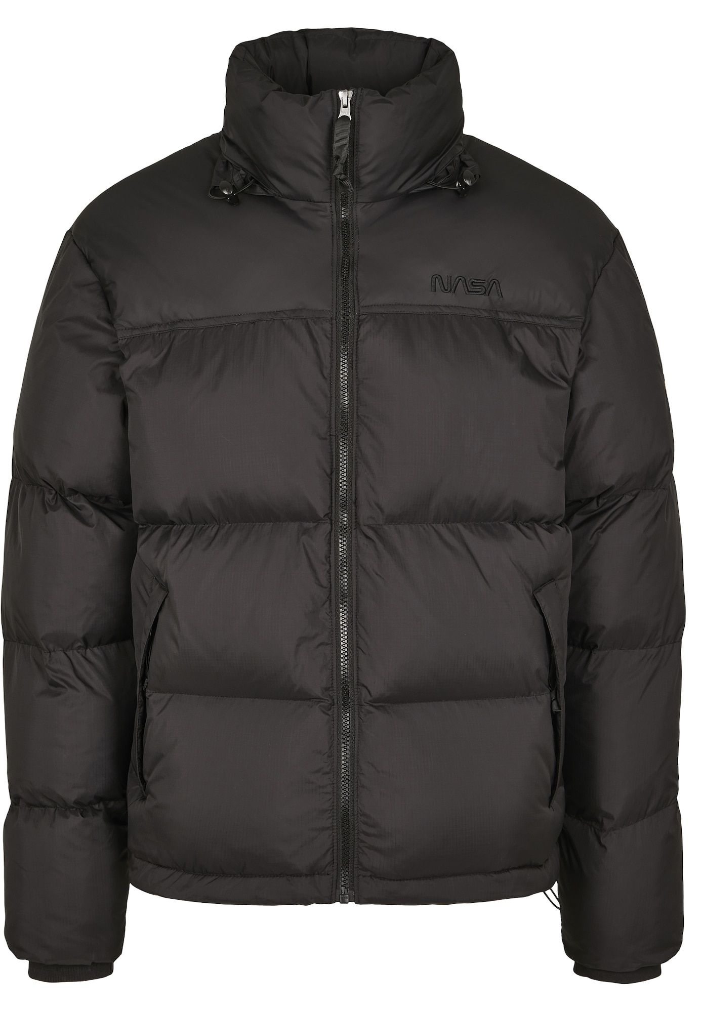 Mister Tee Zimní bunda 'Nasa'  černá