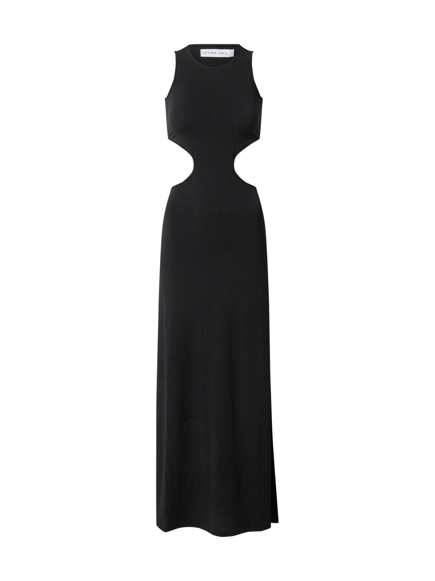 IVYREVEL Letné šaty  čierna