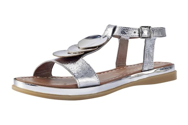 Sandalen für Frauen - ANDREA CONTI Sandalette silber  - Onlineshop ABOUT YOU