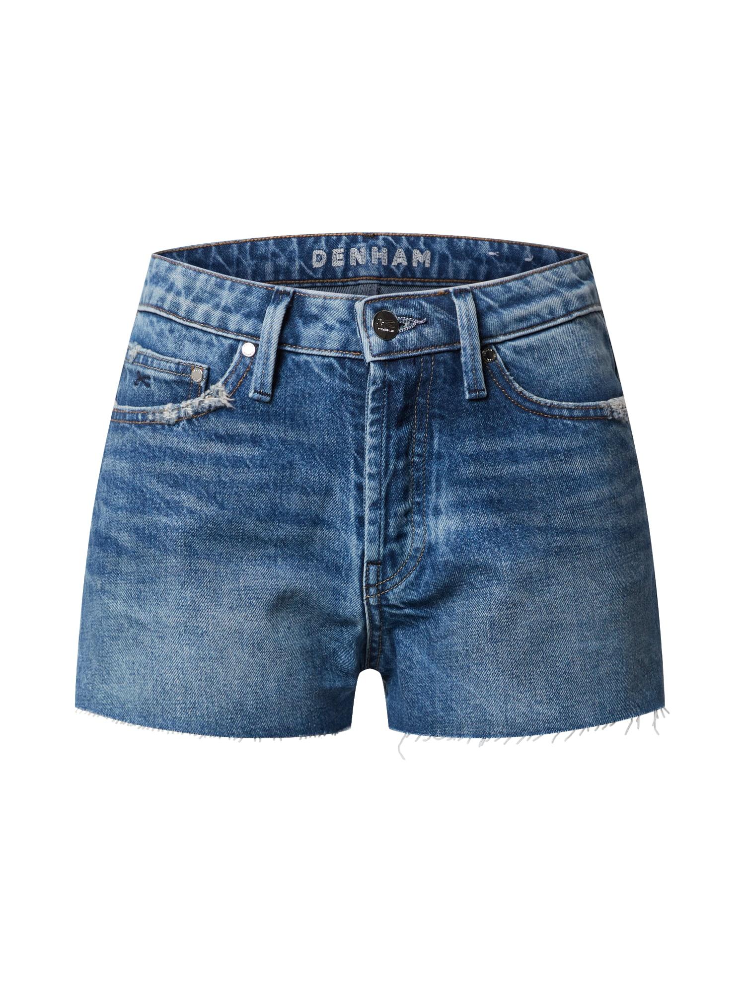 DENHAM Džinsai tamsiai (džinso) mėlyna