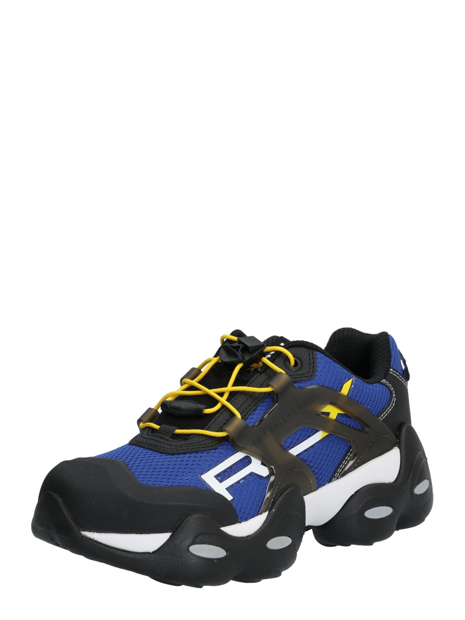 POLO RALPH LAUREN Sneaker low 'RLX TECH-SNEAKERS ATHLETIC'  albastru royal / negru