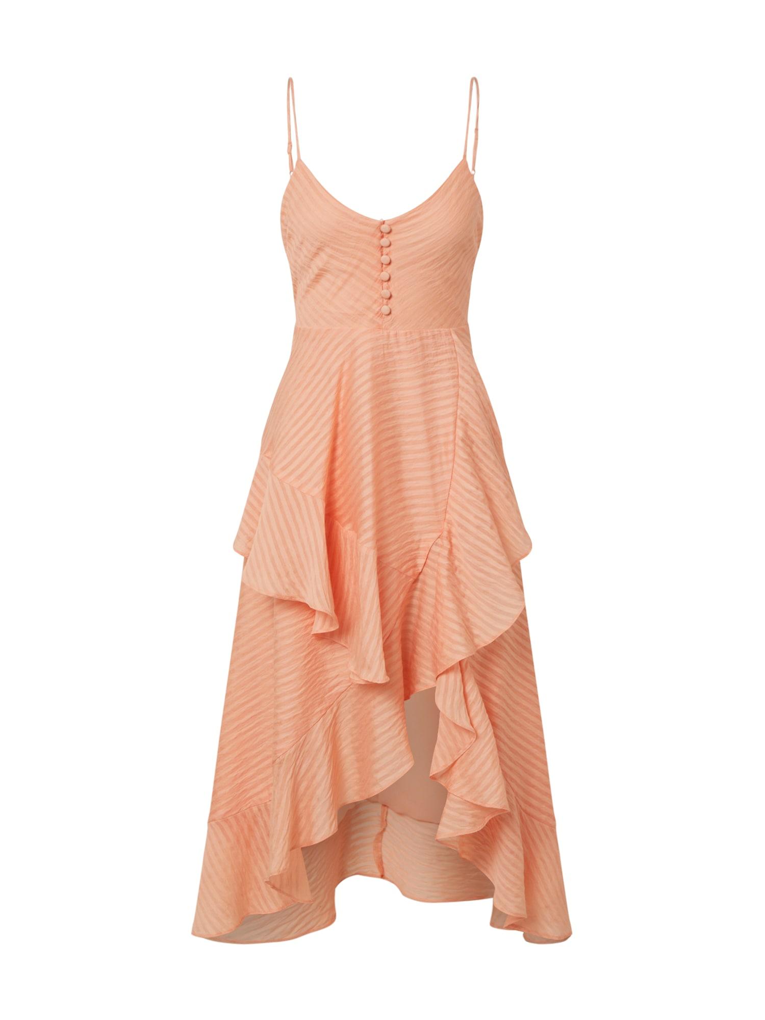 Bardot Suknelė 'SARA' persikų spalva