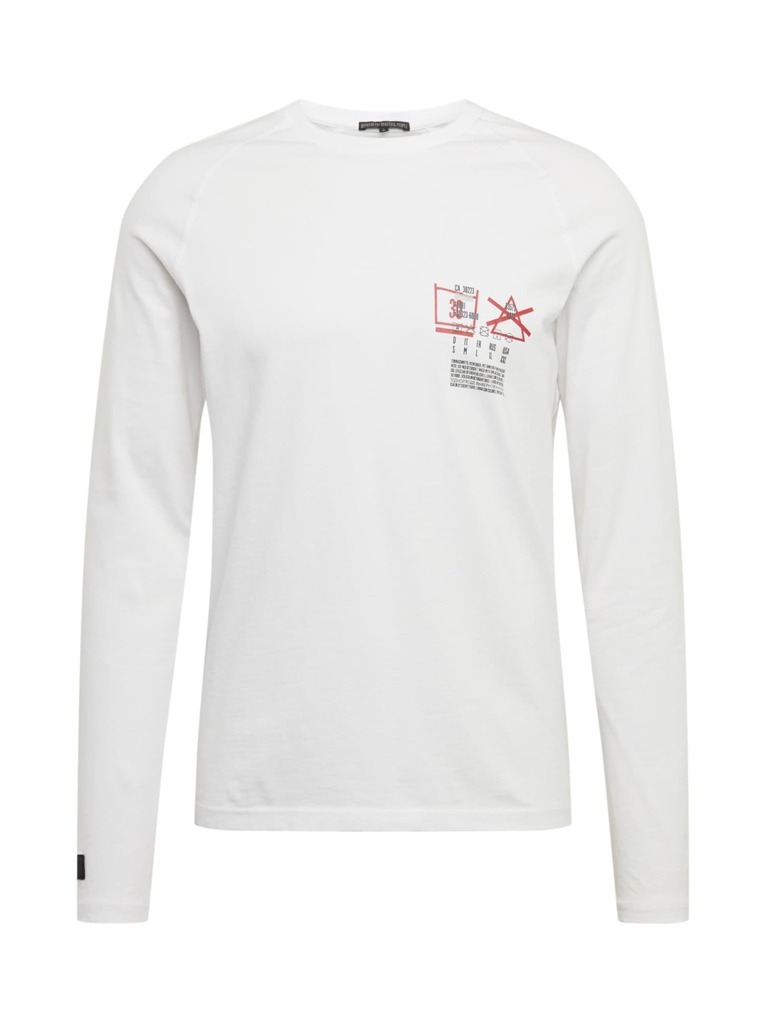 DRYKORN Marškinėliai 'LEMAR' balta