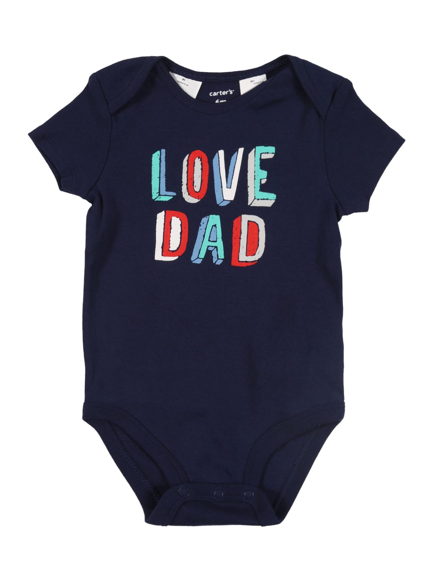 Carter's Šliaužtinukas / glaustinukė 'Love Dad' tamsiai mėlyna