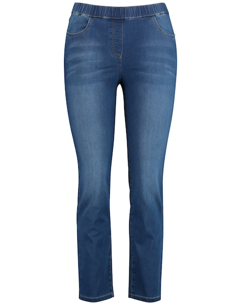 Hosen - Jeggings › SAMOON › blue denim  - Onlineshop ABOUT YOU