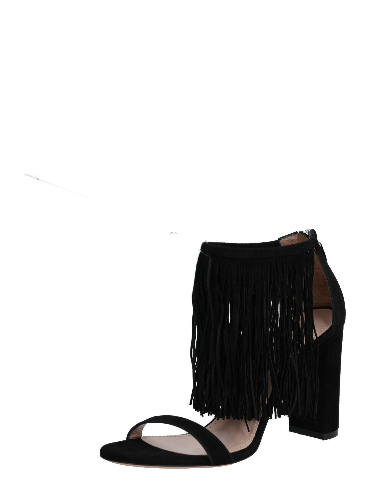 HUGO Sandály  černá