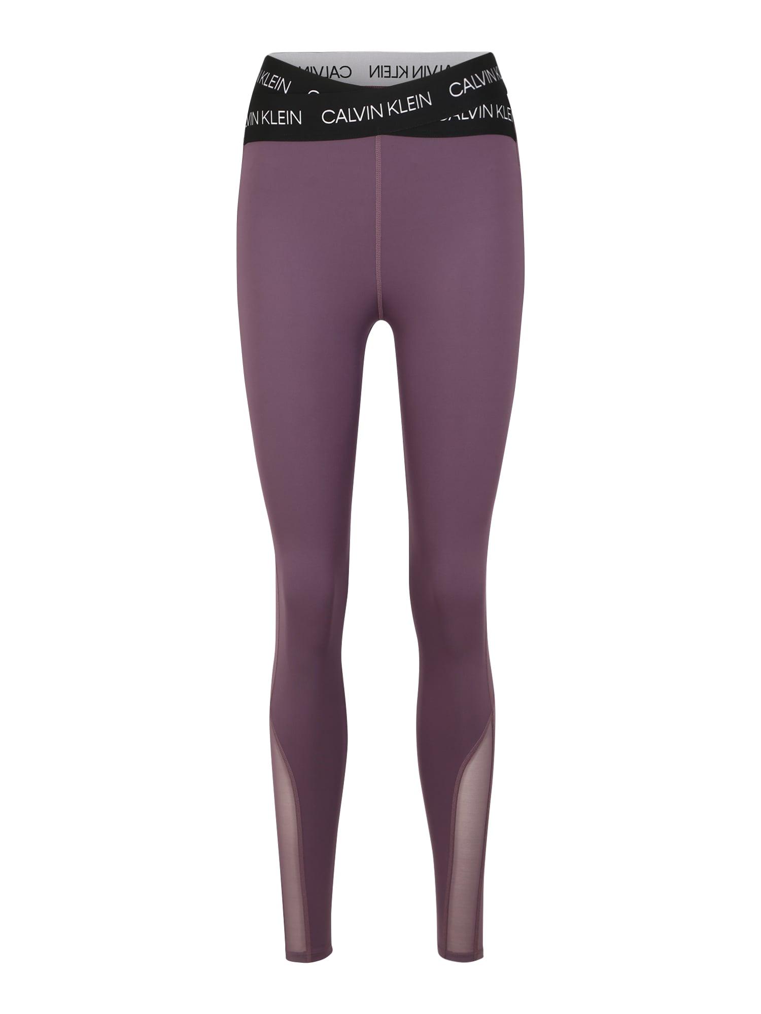 Calvin Klein Performance Sporthose  fialová