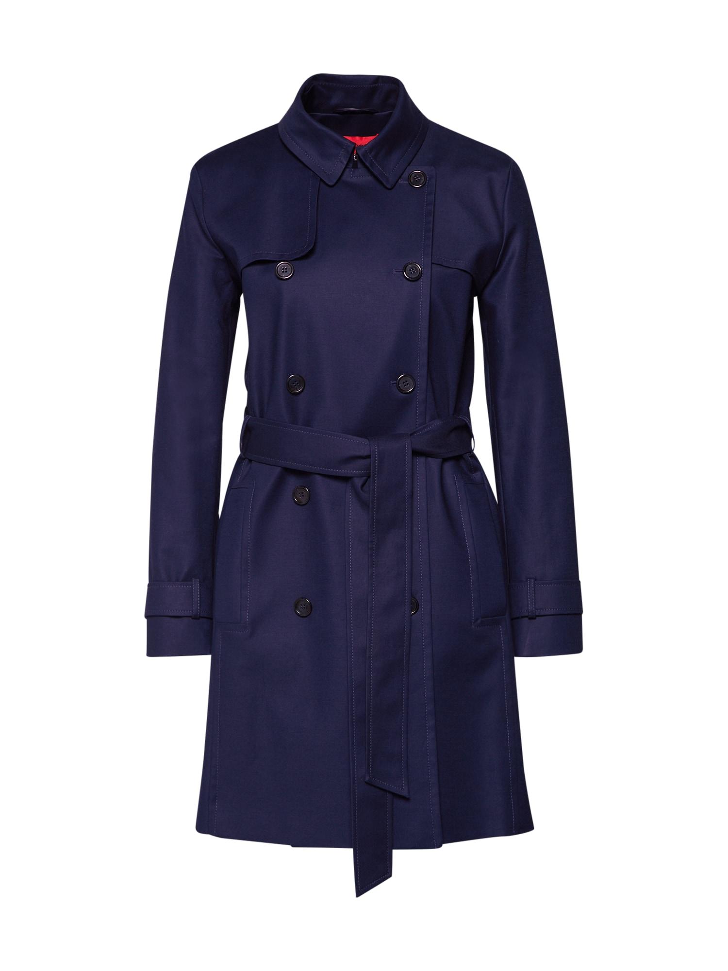 Přechodný kabát Makaras námořnická modř HUGO