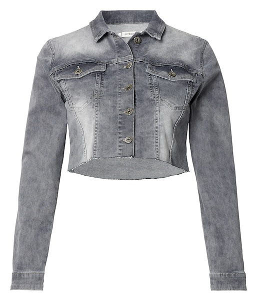 Schwangerschaftsmode - Jeansjacke Sanne › Noppies › grau  - Onlineshop ABOUT YOU