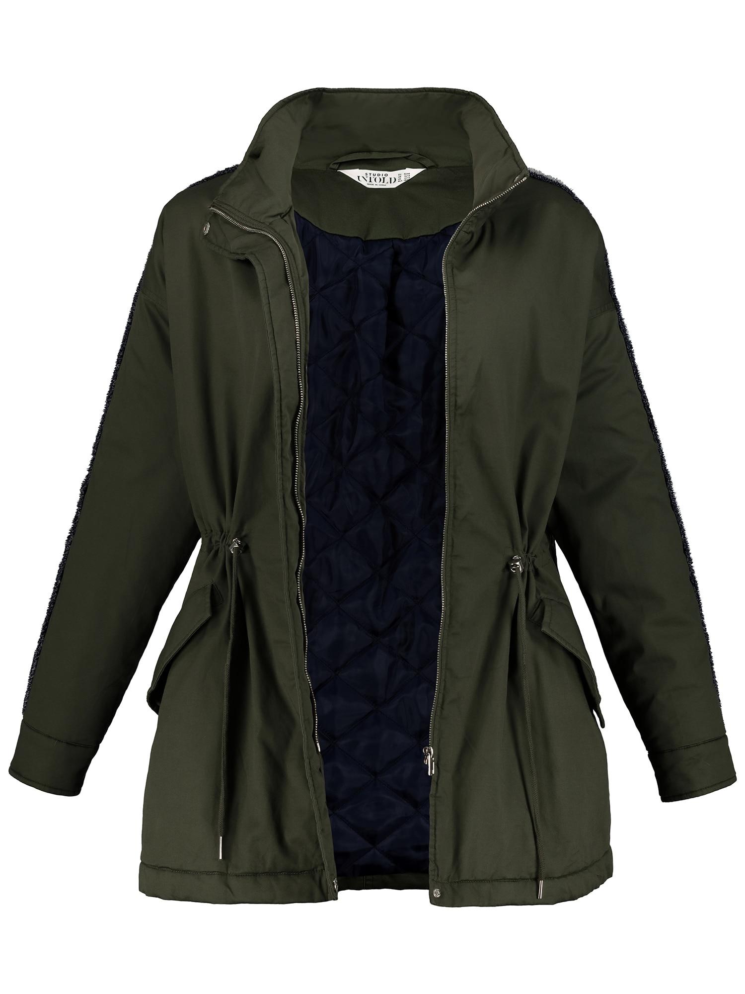 Přechodná bunda tmavě zelená Studio Untold