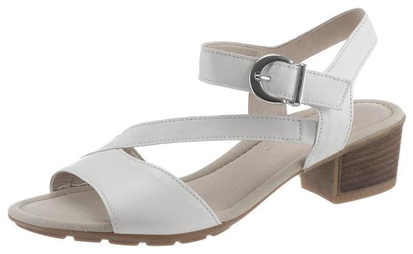 Sandalen für Frauen - GABOR Sandalette weiß  - Onlineshop ABOUT YOU