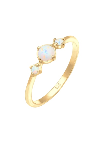 Ringe für Frauen - ELLI Ring 'Opal' gold  - Onlineshop ABOUT YOU
