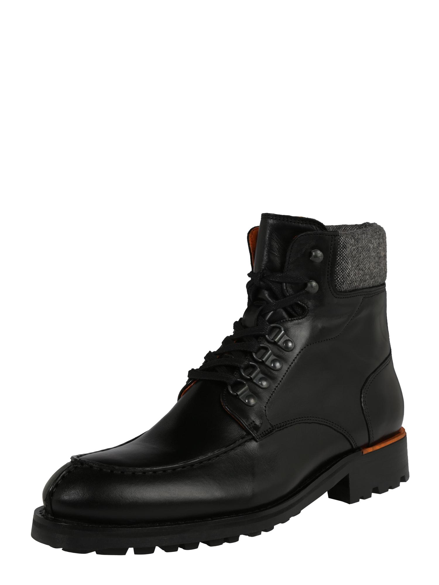 Bianco Suvarstomieji batai 'BIACARNEY Tweed' juoda