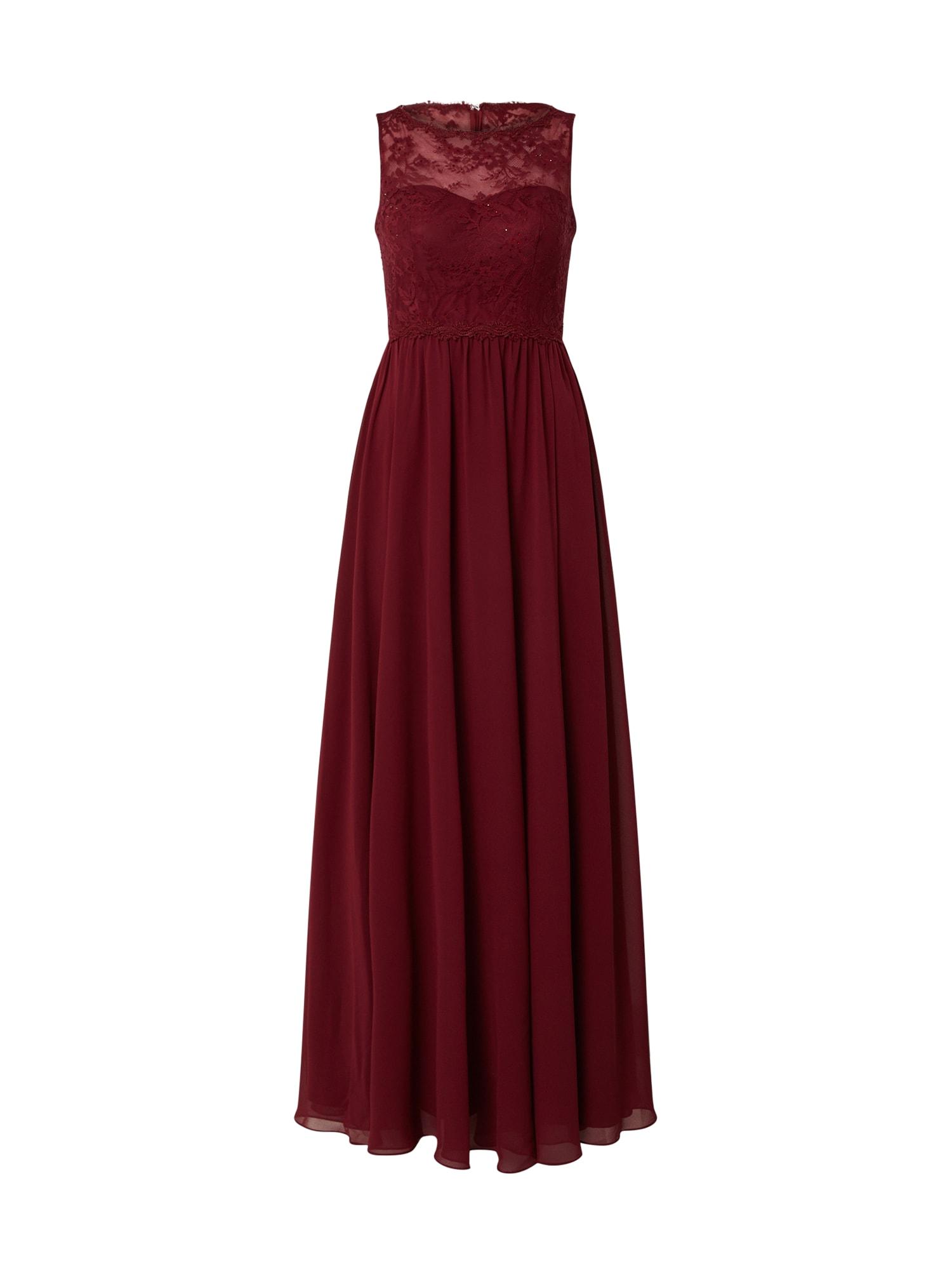 MAGIC NIGHTS Suknelė vyno raudona spalva