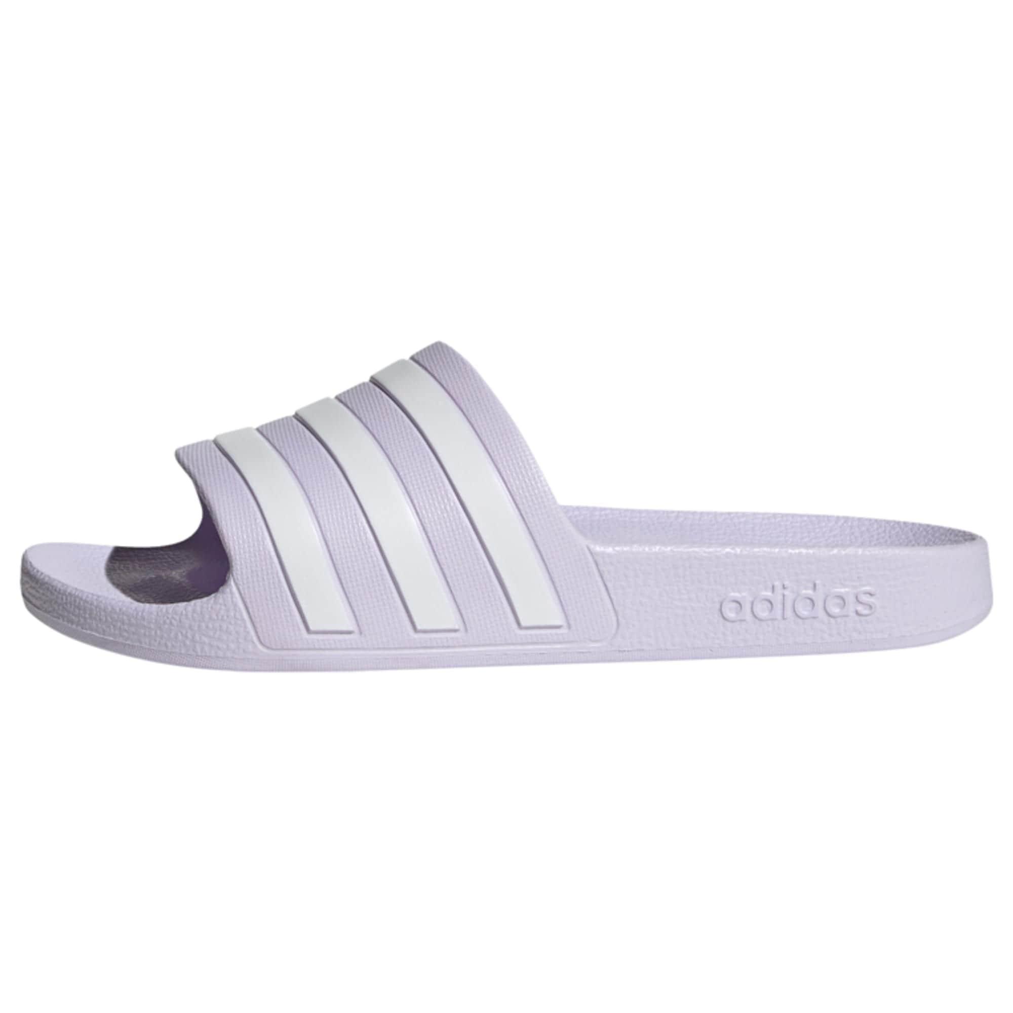 ADIDAS PERFORMANCE Sandalai / maudymosi batai 'ADILETTE AQUA' šviesiai violetinė / balta