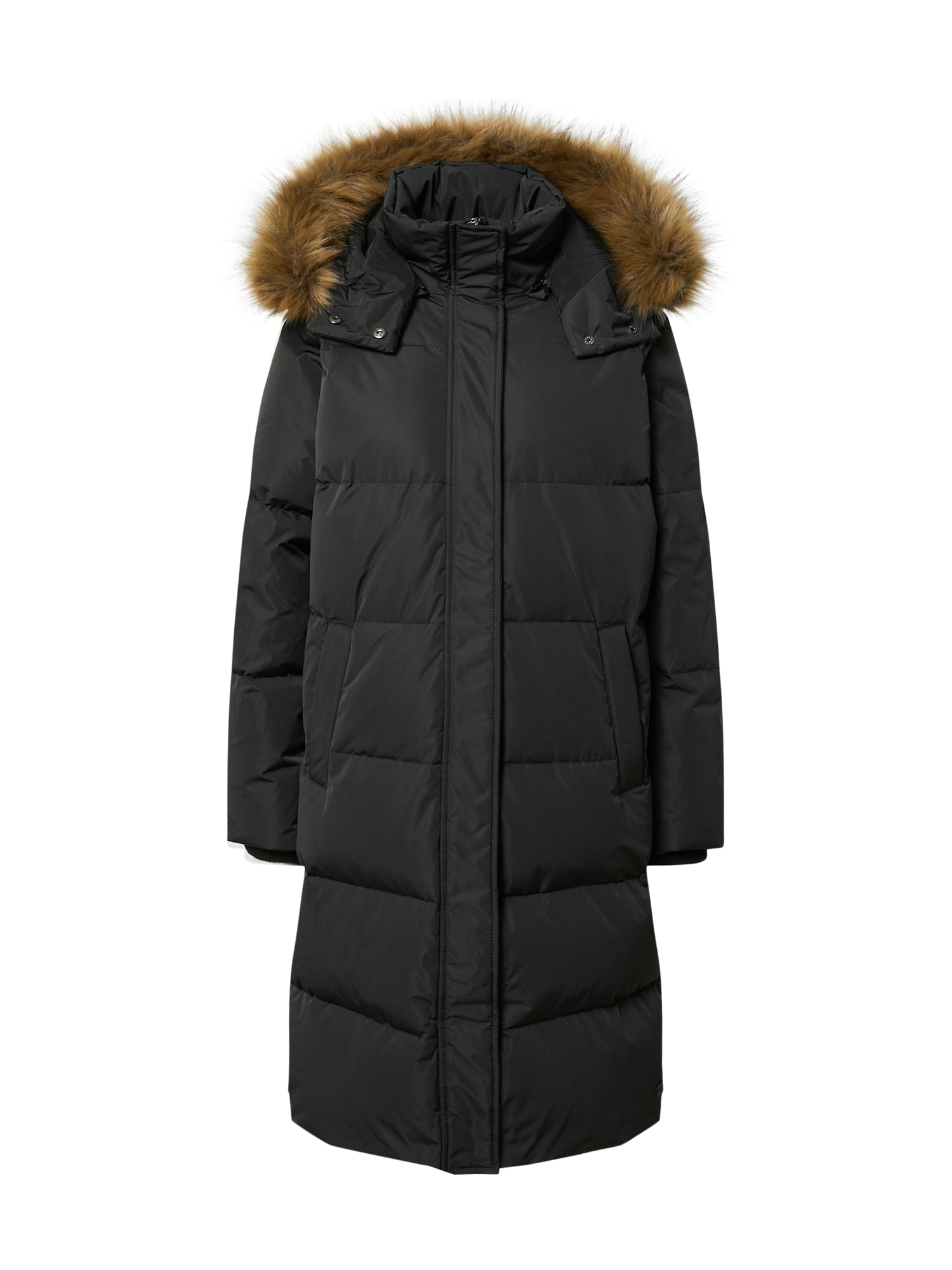 MOSS COPENHAGEN Žieminis paltas juoda