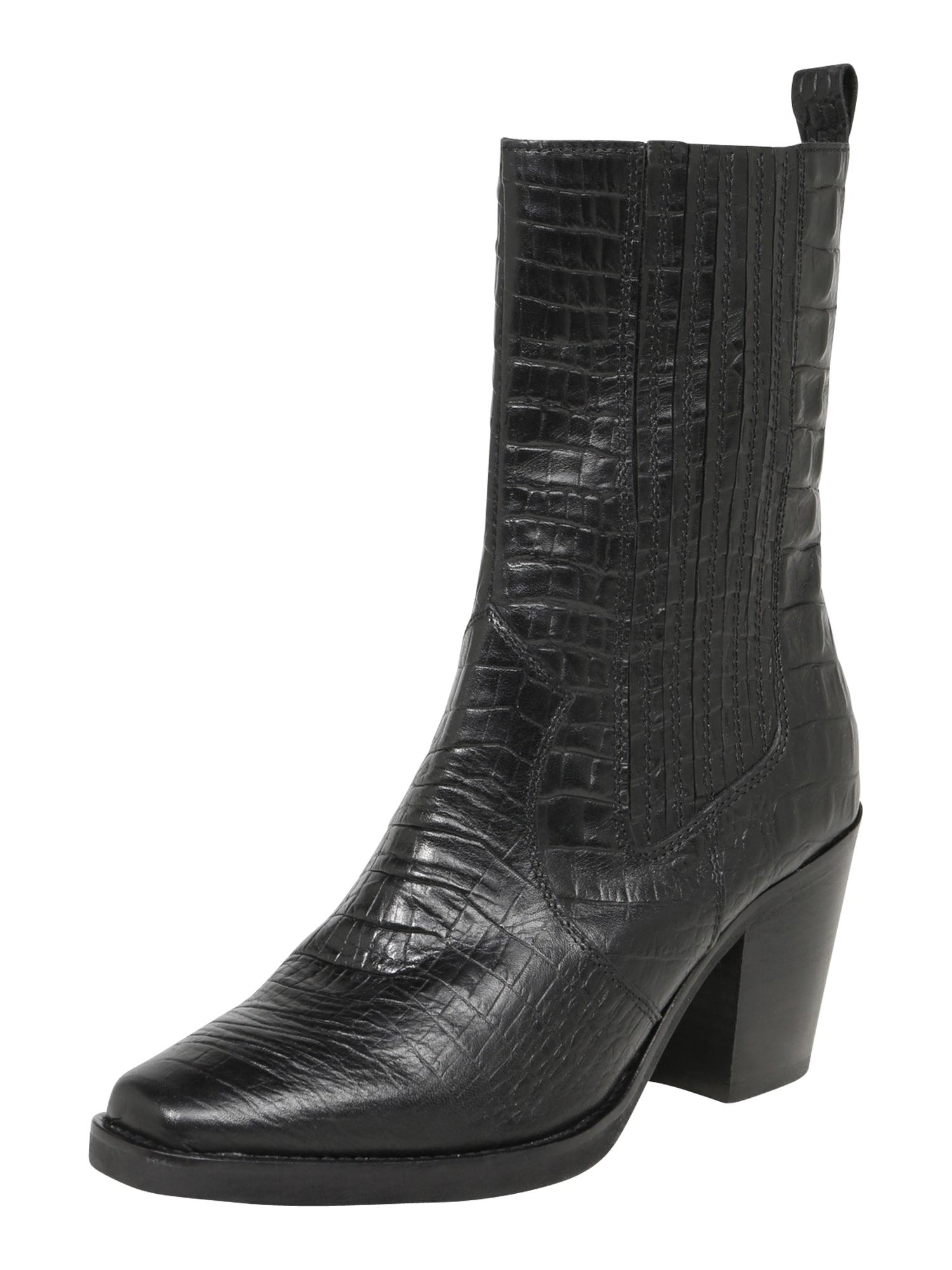 ABOUT YOU Auliniai batai su kulniuku 'Katharina' juoda