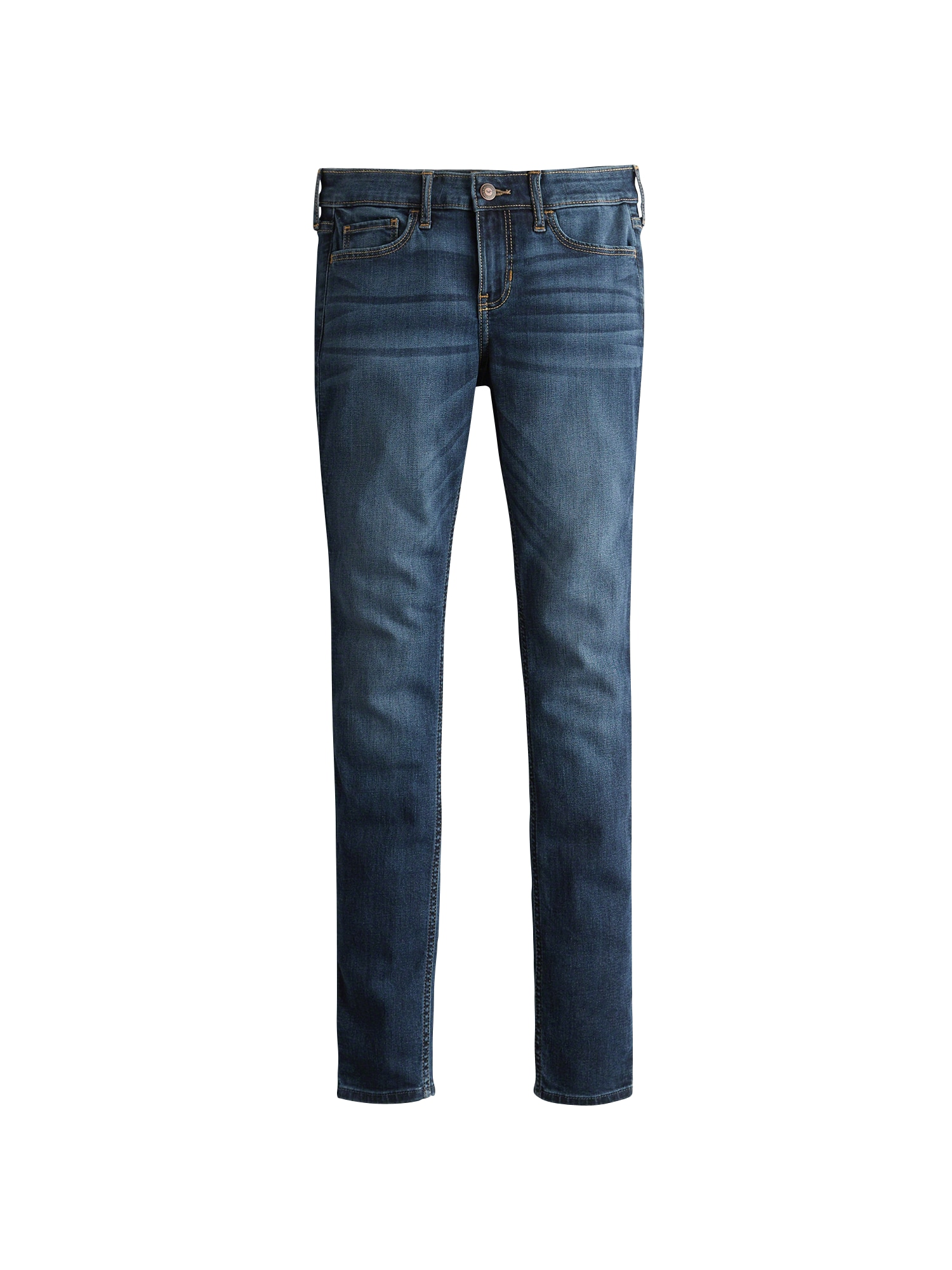 HOLLISTER Džinsai tamsiai (džinso) mėlyna
