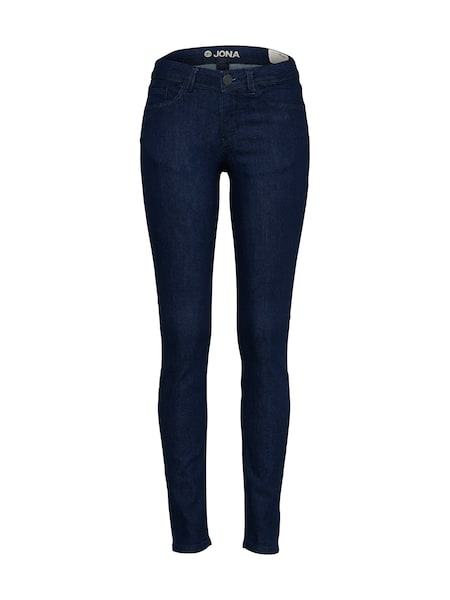 Hosen für Frauen - TOM TAILOR DENIM Skinny Jeans 'Jona' dunkelblau  - Onlineshop ABOUT YOU