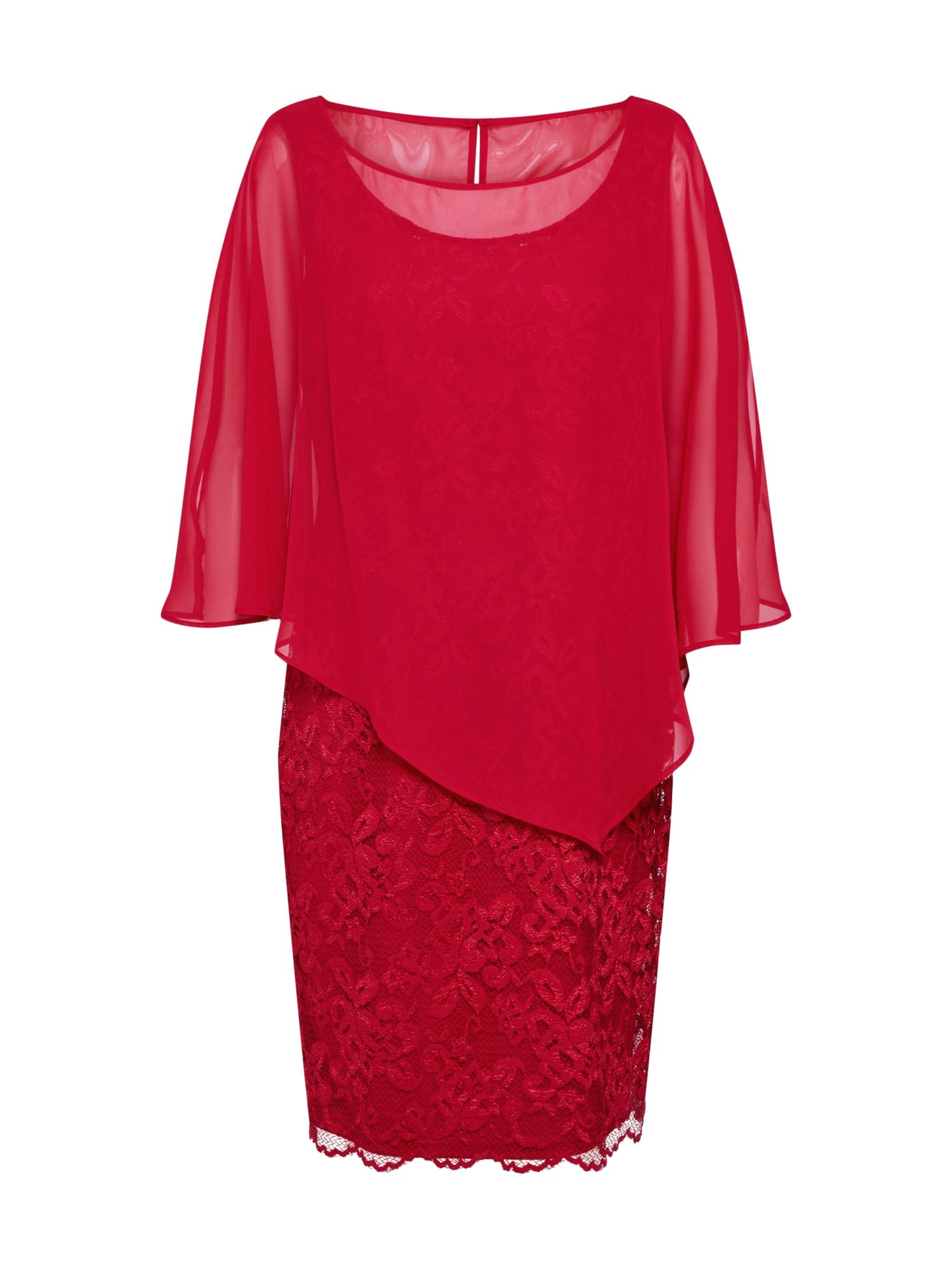 Vera Mont Vakarinė suknelė raudona