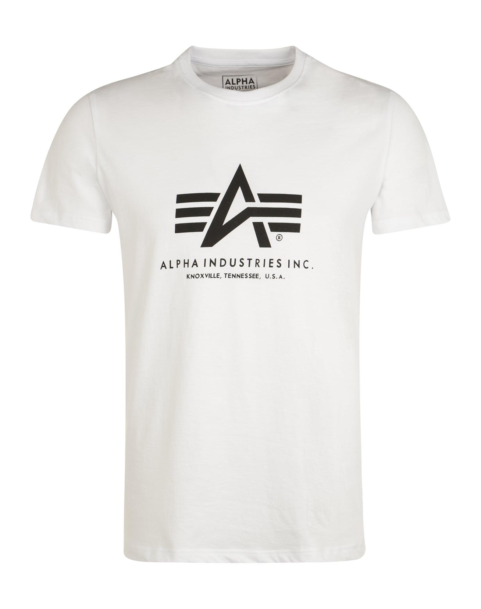 ALPHA INDUSTRIES Marškinėliai balta