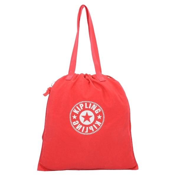Shopper für Frauen - Beuteltasche 'New Hiphurray' › KIPLING › orangerot weiß  - Onlineshop ABOUT YOU