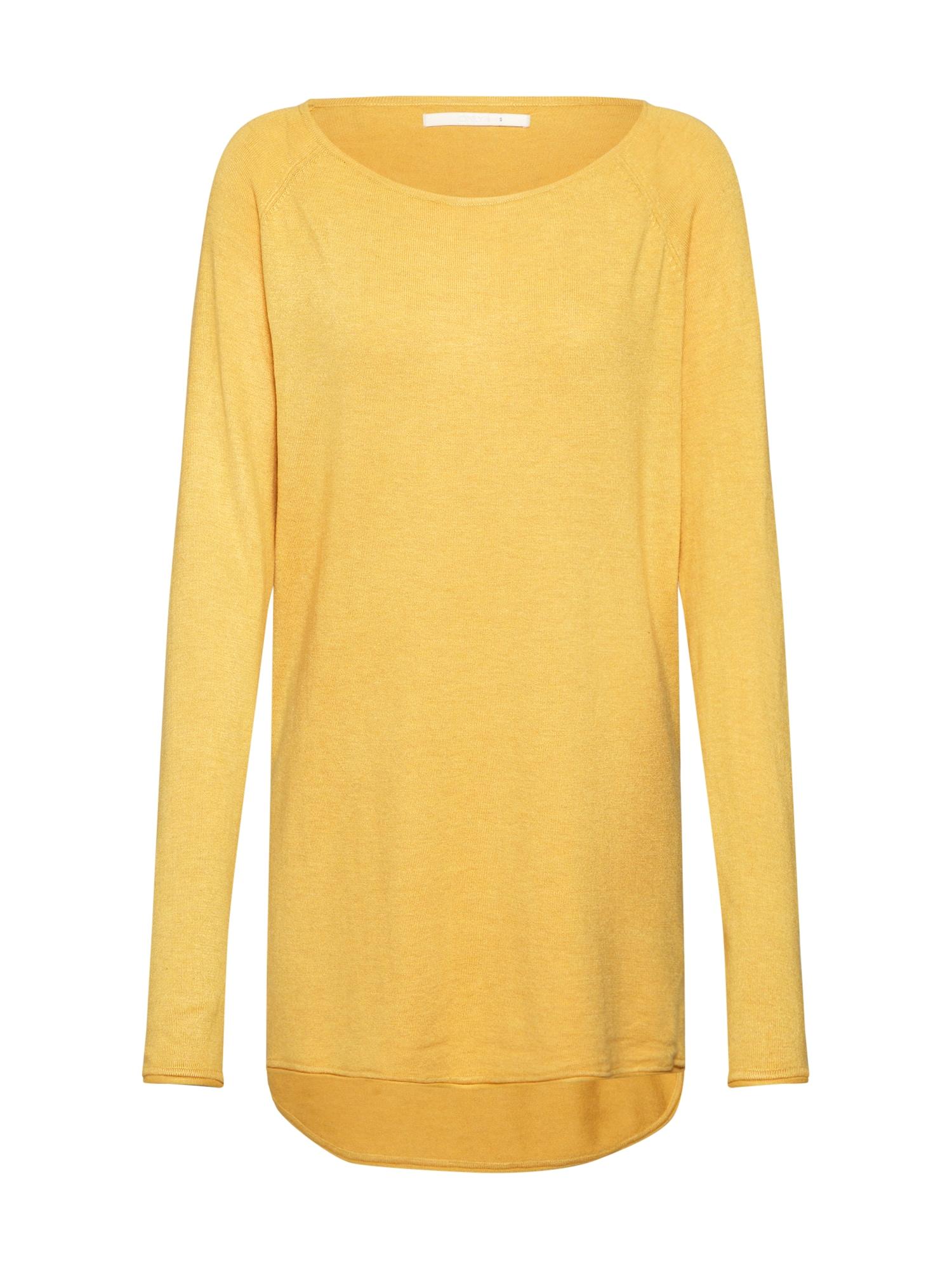 ONLY Sveter 'Mila'  žlté