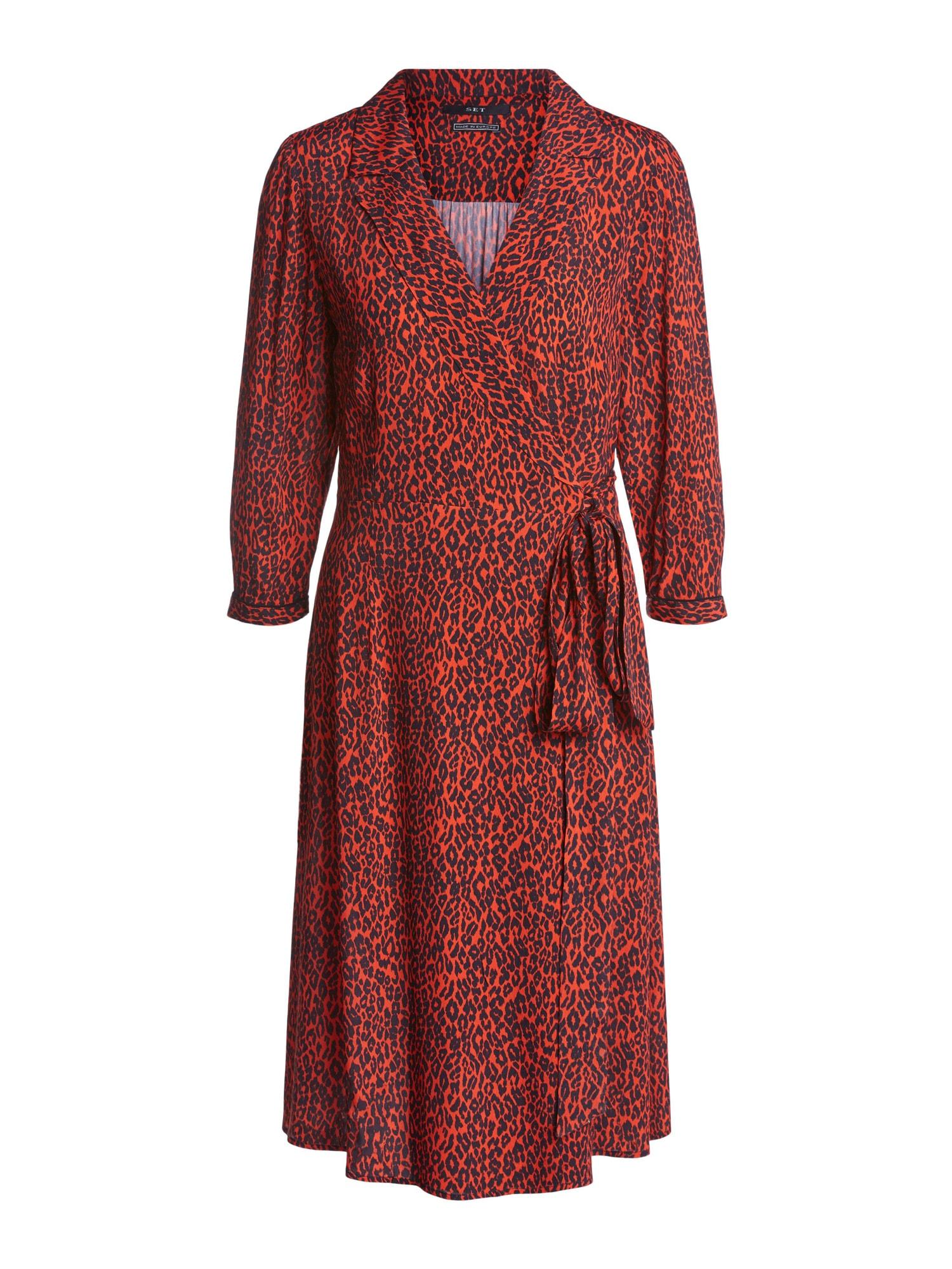 SET Šaty  červená