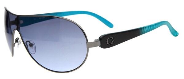 Sonnenbrillen für Frauen - GUESS Sonnenbrille türkis schwarz  - Onlineshop ABOUT YOU