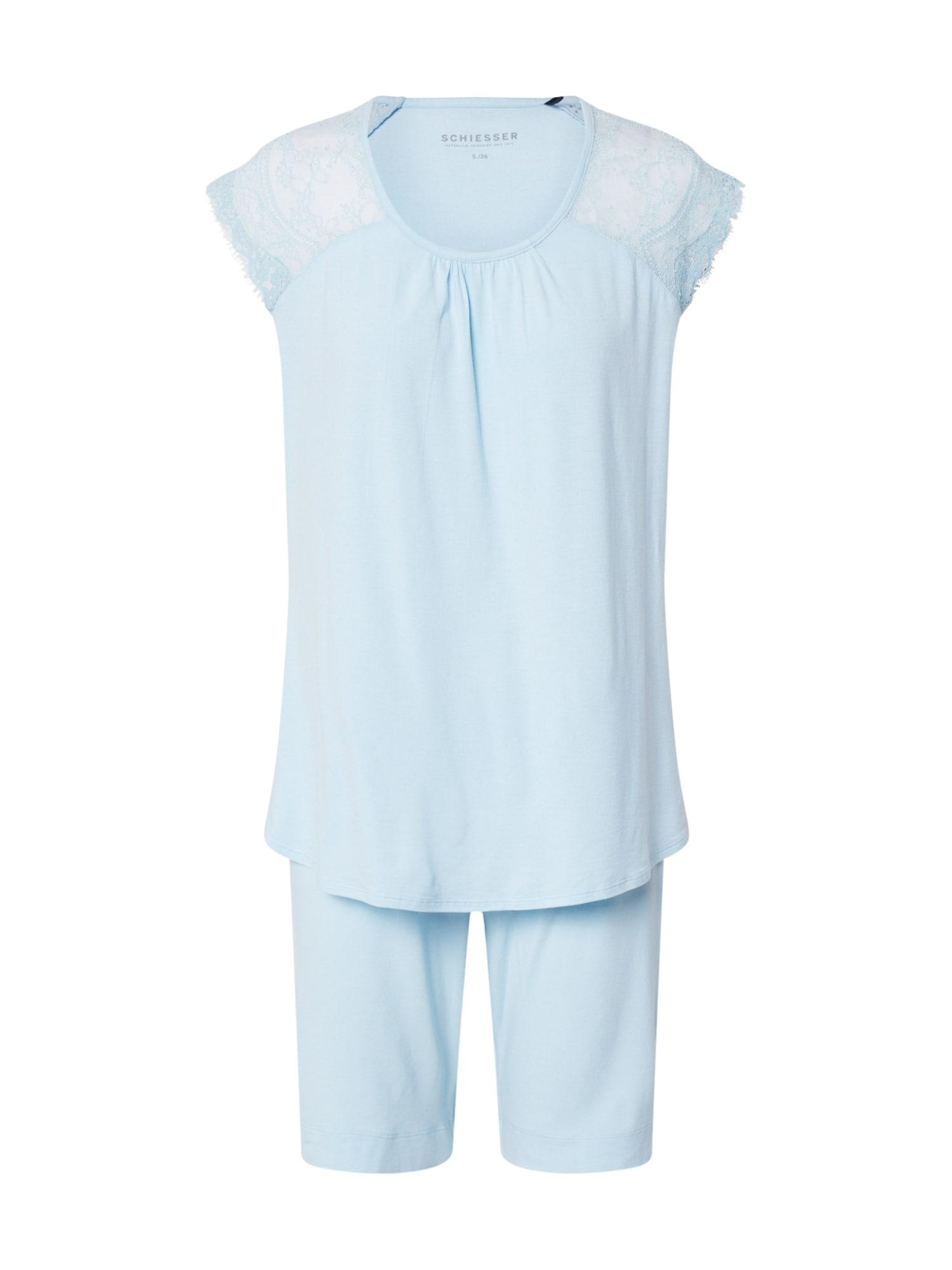 SCHIESSER Pižama azuro