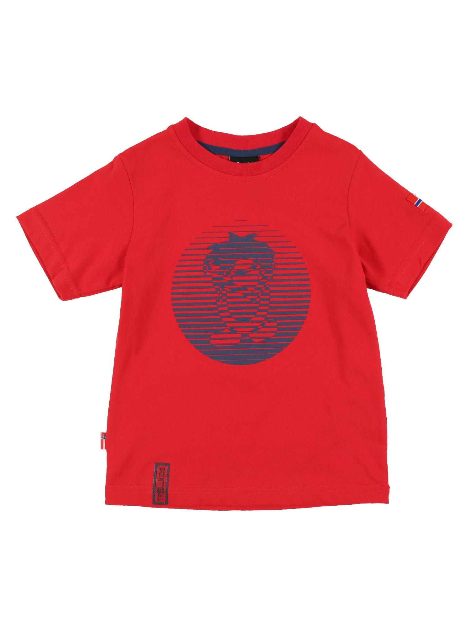 TROLLKIDS Tričko  modré / červené