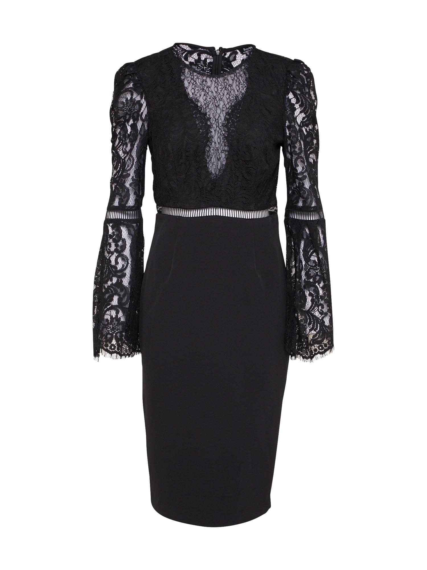 Šaty FAEDRA černá Bardot
