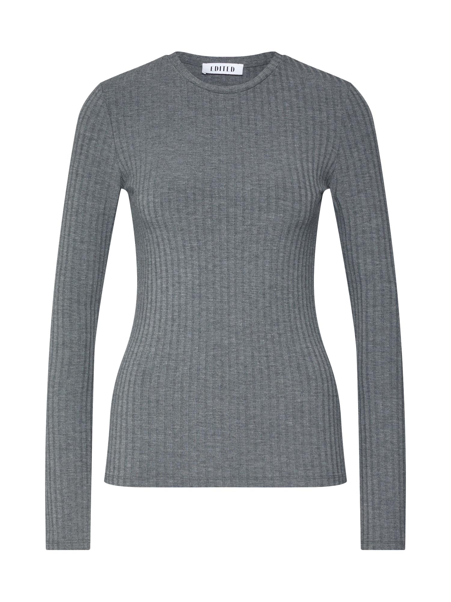 EDITED Marškinėliai 'Ginger' pilka