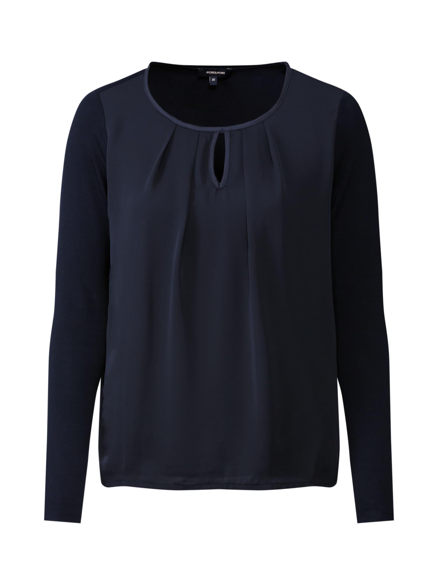 MORE & MORE Marškinėliai juoda