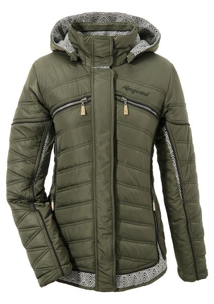 Jacken für Frauen - Almgwand Trachtenoutdoorjacke oliv  - Onlineshop ABOUT YOU