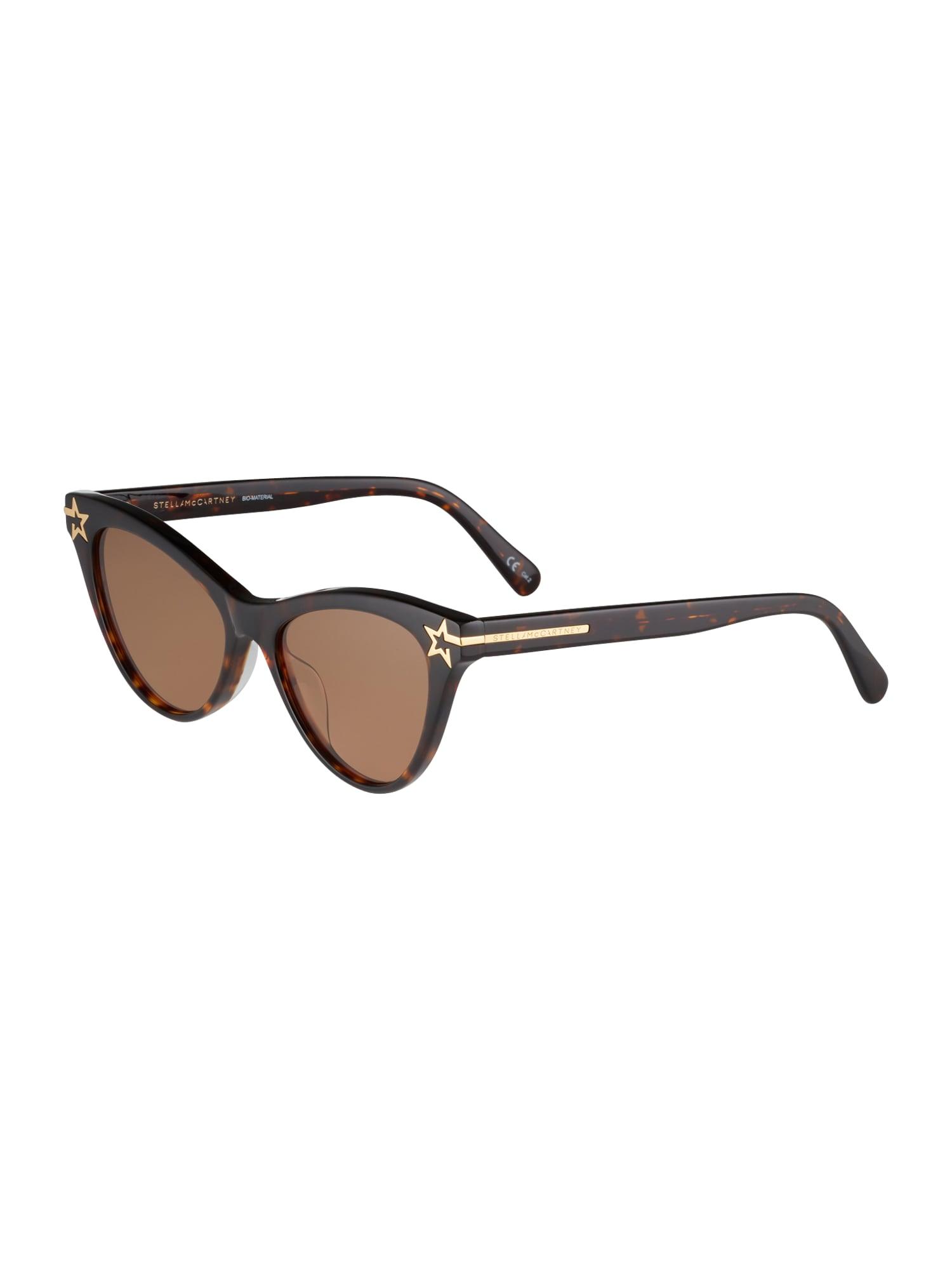 Stella McCartney Sluneční brýle  kaštanově hnědá / zlatá
