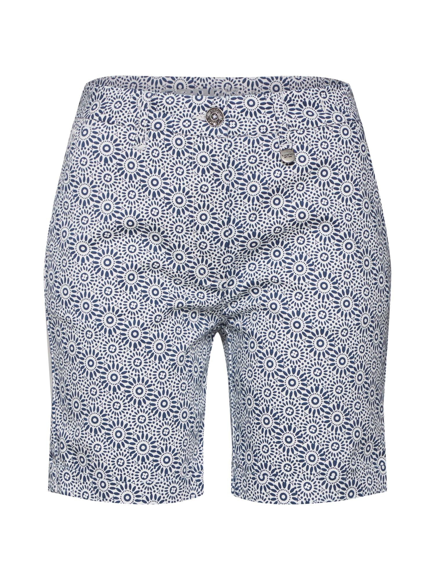 Kalhoty Salvi Bermuda modrá bílá Gang