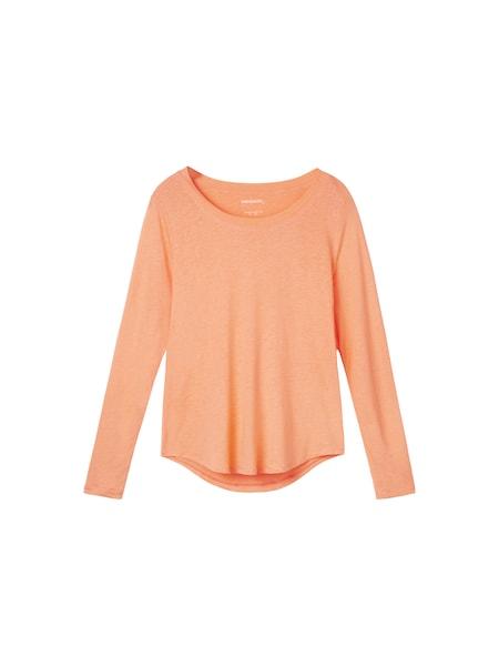 Oberteile für Frauen - Sandwich Shirt orangemeliert  - Onlineshop ABOUT YOU
