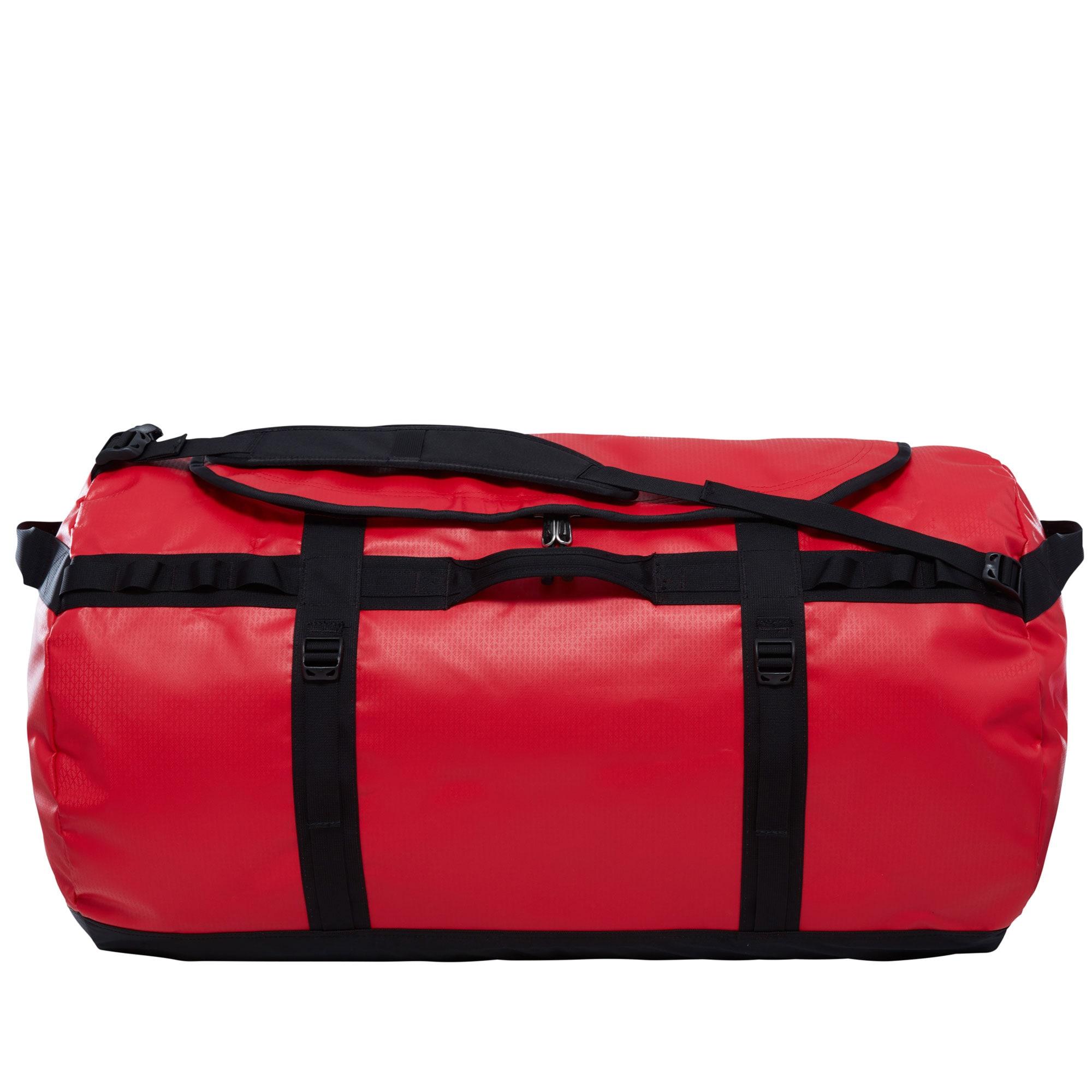 THE NORTH FACE Sportovní taška 'Base Camp Duffel 3ETO-KZ3'  červená / černá