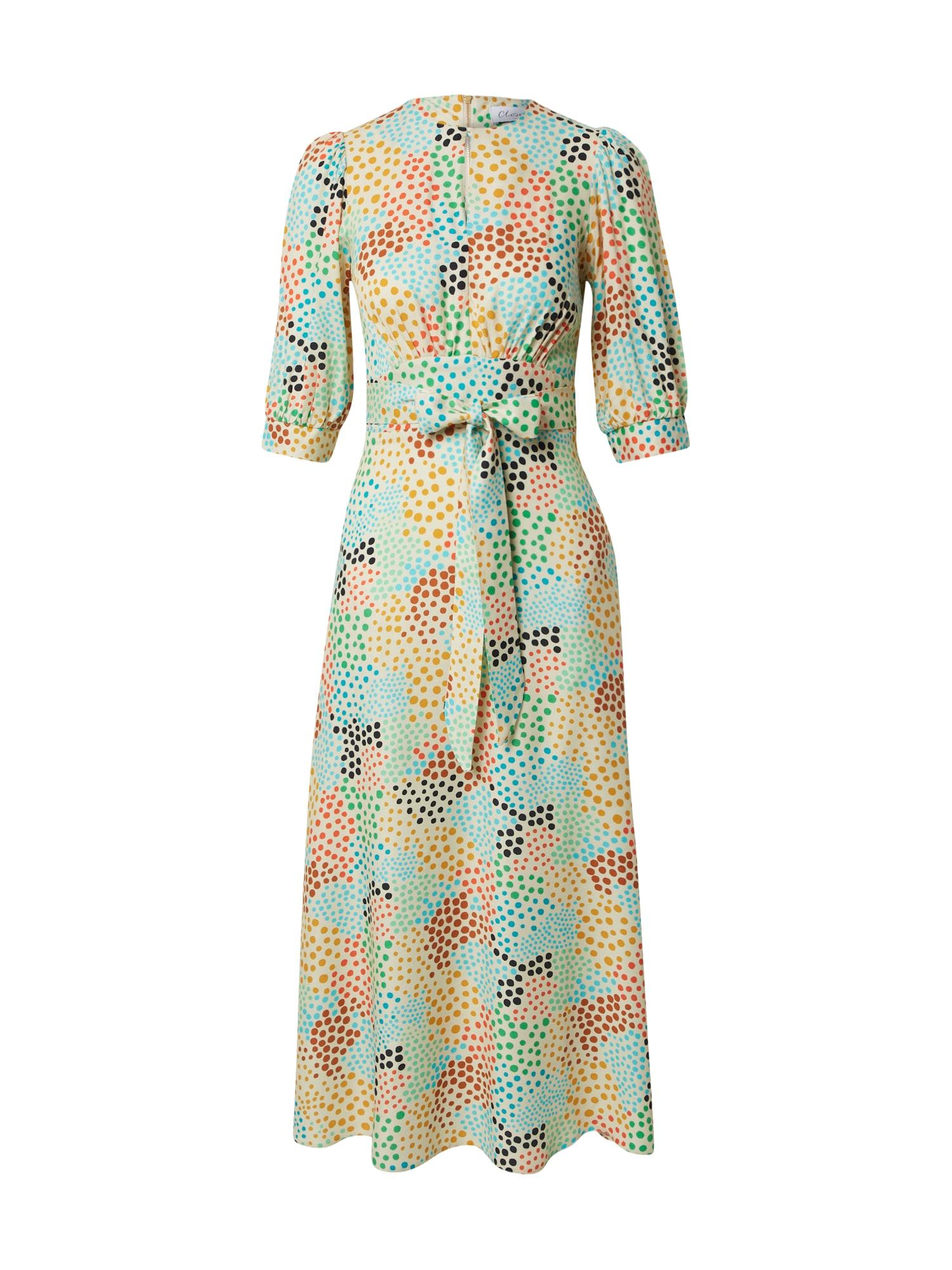 Closet London Vasarinė suknelė oranžinė / smėlio / mėtų spalva / žalia / mėlyna / geltona / raudona