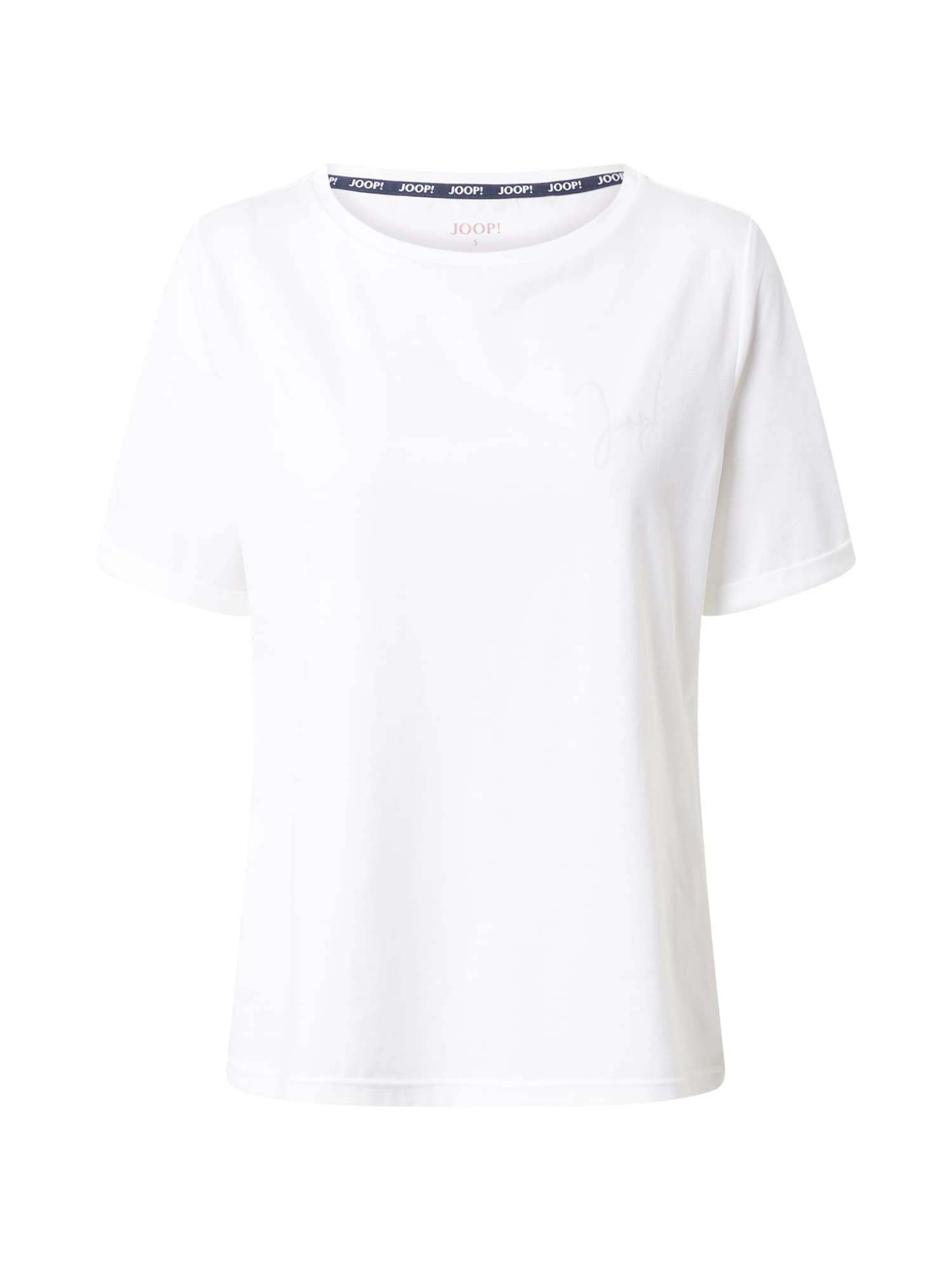 JOOP! Bodywear Pižaminiai marškinėliai balkšva