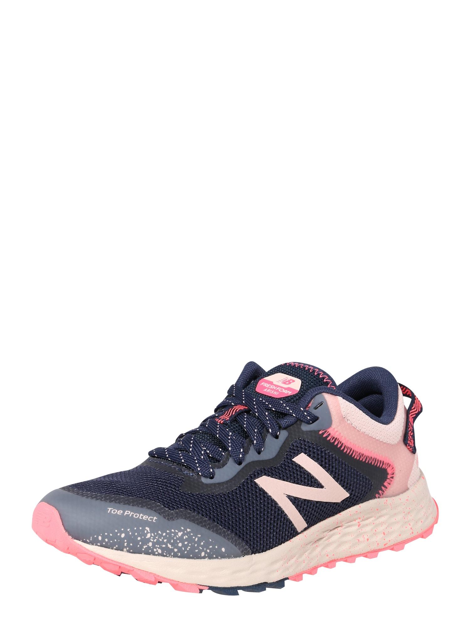 new balance Sportovní boty  tmavě modrá / růžová / kouřově modrá / bílá