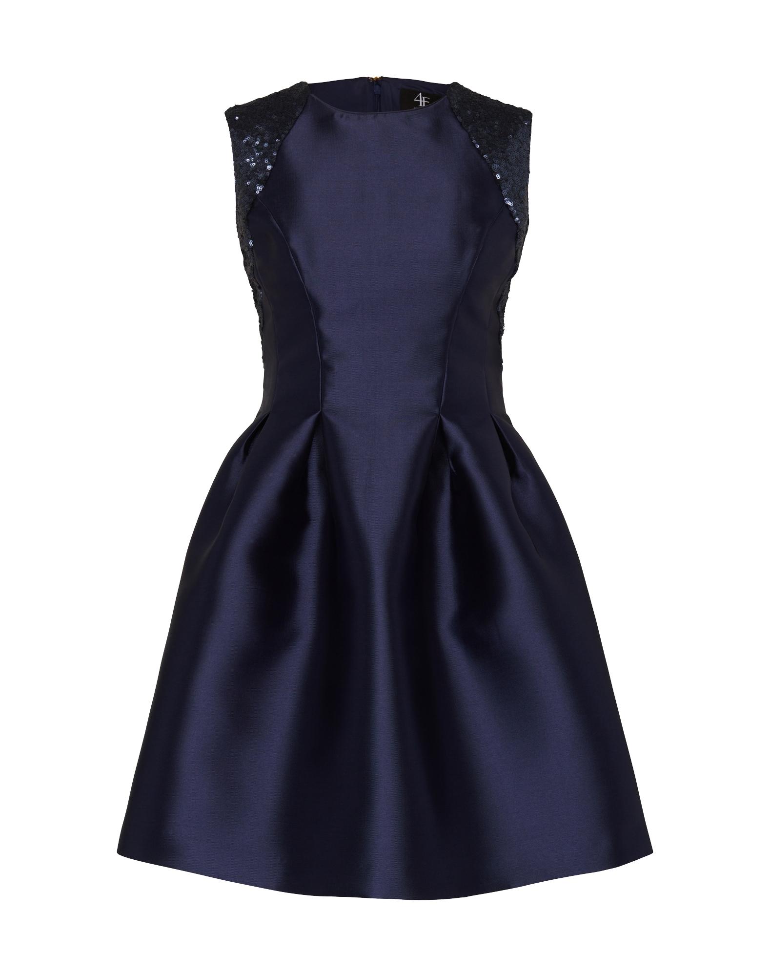 Koktejlové šaty Moa tmavě modrá Four Flavor